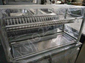 Полка навесная для сушки посуды, нерж., новая.