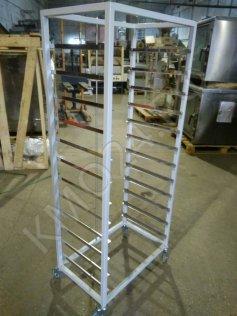 Тележка-шпилька для листов 600*400, краш. металл, сварная, 12 уровней, новая.
